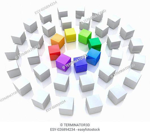 Abstract unity in the design of the information related to the abstraction