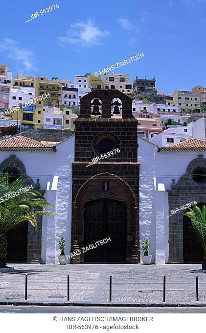 Iglesia Nuestra Senora de la Asuncion, San Sebastian, La Gomera, Canary Islands, Spain