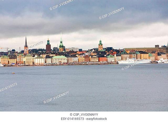 view on Gamla Stan, Stockholm
