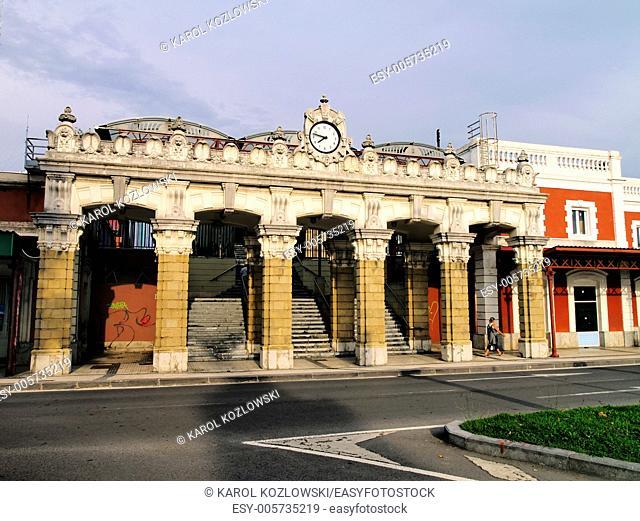 Train Station in Donostia - San Sebastian, Basque Country, Spain