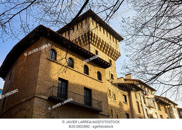 Museum of Natural Sciences of Alava, Torre de Doña Ochanda, Vitoria-Gasteiz, Araba, Basque Country, Spain, Europe