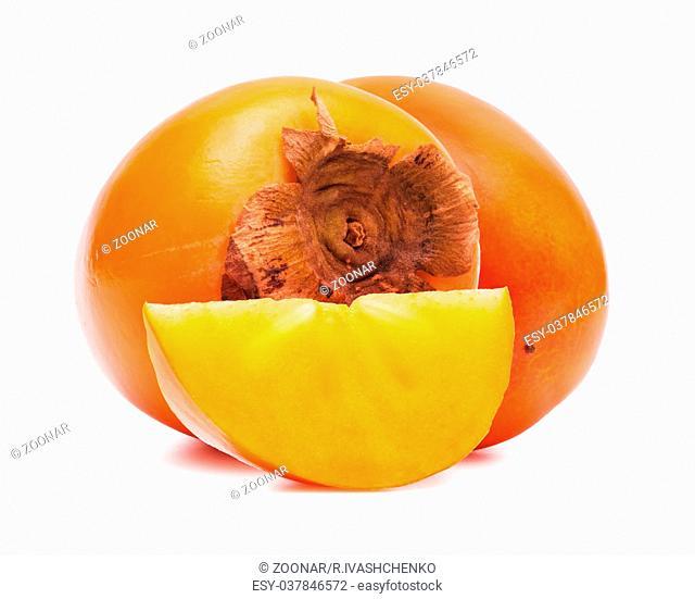 Persimmon close up