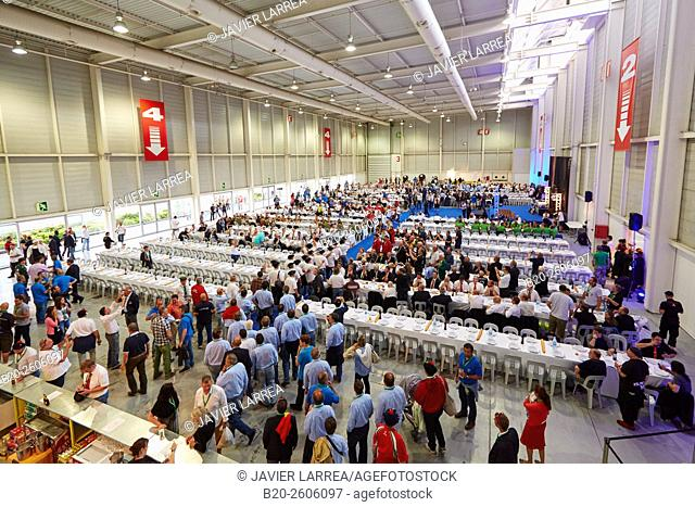 Dining room for 1, 500 people. Ficoba, Basque Coast International Fair. Irun. Gipuzkoa. Basque Country. Spain