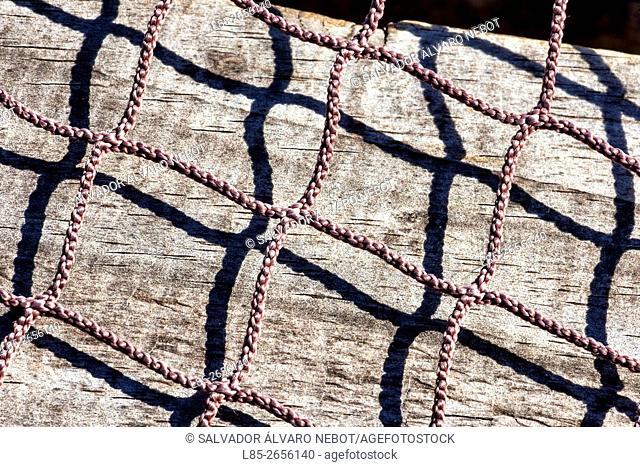 Braided rope shadows