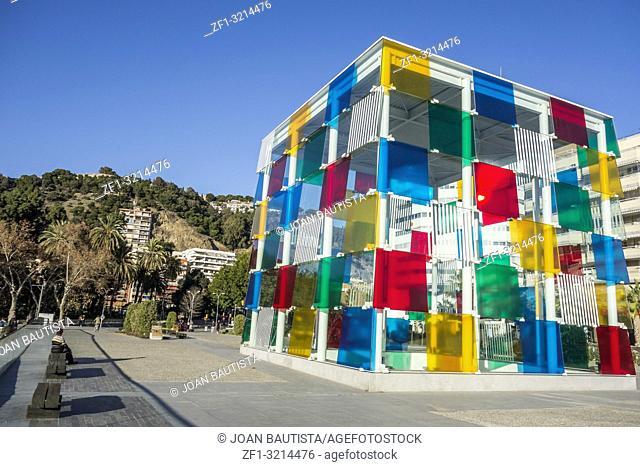 Cultural center, Centre Pompidou,Malaga, Spain