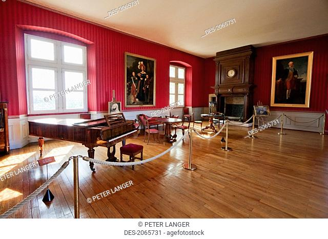 Music Room Of The Chateau D'amboise, Amboise, France