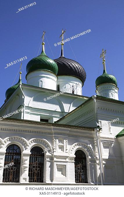 Theodore Cathedral, Feodorosky Convent, Pereslavl-Zalessky, Golden Ring, Yaroslavl Oblast, Russia
