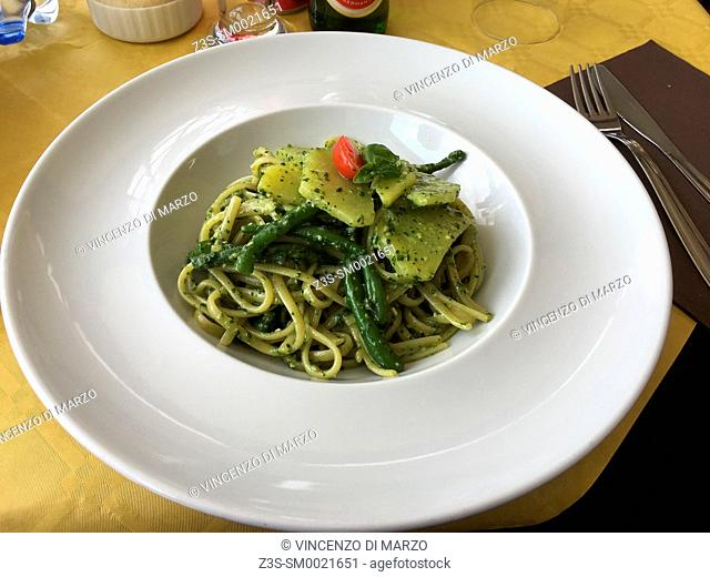 pesto with Pesto to Genoese