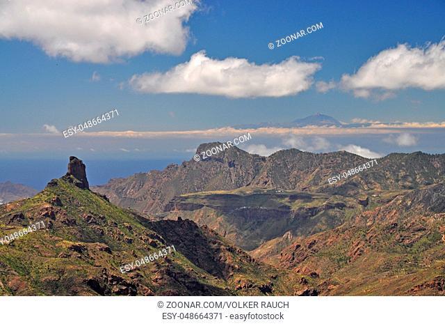 Roque Bentaiga, Gran Canaria, kanaren, kanarische inseln, insel, berg, berge, gebirge, hochgebirge, spanien, wahrzeichen, landschaft