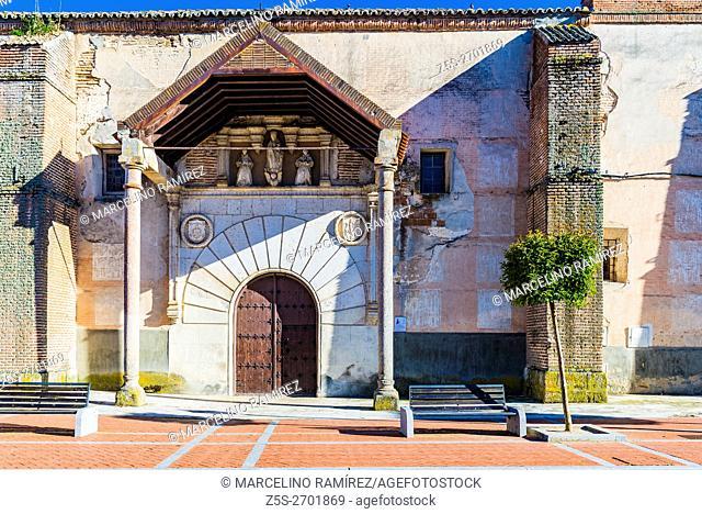 Convent of the Concepción - Museum of Holy Week. Olmedo, Valladolid, Castilla y León, Spain, Europe