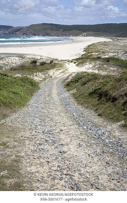 Rostro Beach; Finisterre; Costa de la Muerte; Galicia; Spain