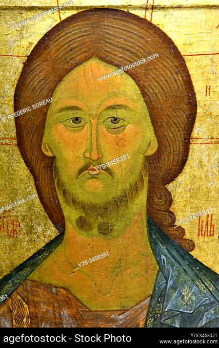 Icon of Jesus , St Petersburg Russia