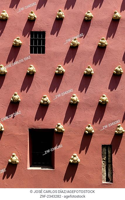 Facade of the Dalí Theatre-Museum Figueres, Girona province, Catalonia, Spain
