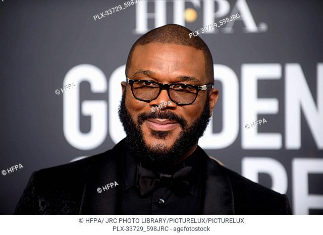 Tyler Perry attends the 76th Annual Golden Globe Awards at the Beverly Hilton in Beverly Hills, CA on Sunday, January 6, 2019