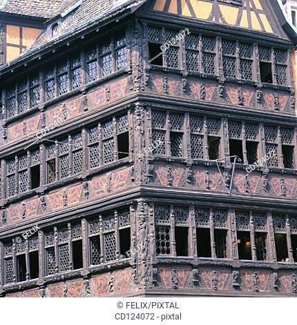 Place de la Cathedrale. Strasbourg. France