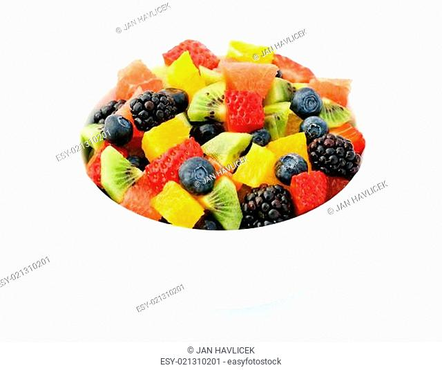 Fresh fruit salad mix