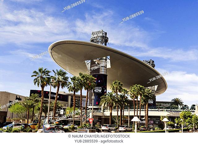 Fashion show mall, Las Vegas, The Entertainment Capital of the World, Nevada, USA