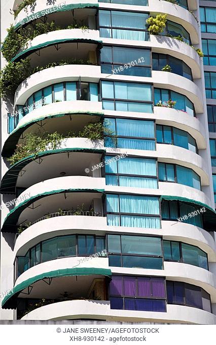 Punta Paitilla appartment buildings, Panama City, Panama