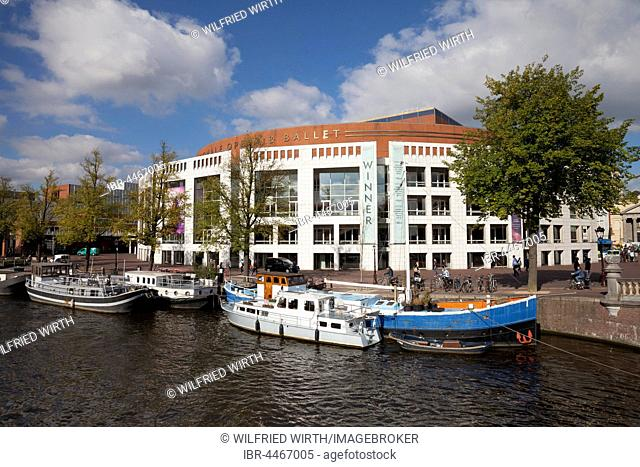 De Nationale Opera, Dutch National Opera, opera, Amstel Canal, Amsterdam, Holland, Netherlands