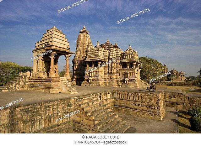 India, Khajuraho city, Madhya Pradesh, UNESCO, World heritage site, Mahadewa Temple, Asia, travel, January 2008, cultu