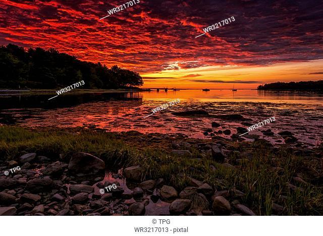 Sunrise;Rockport;Massachusetts