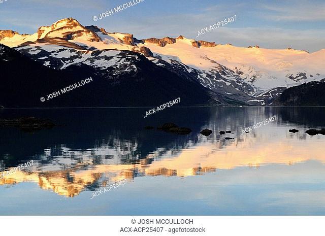 The Sphinx Glacier at sunset, Garibaldi Provincial Park, BC