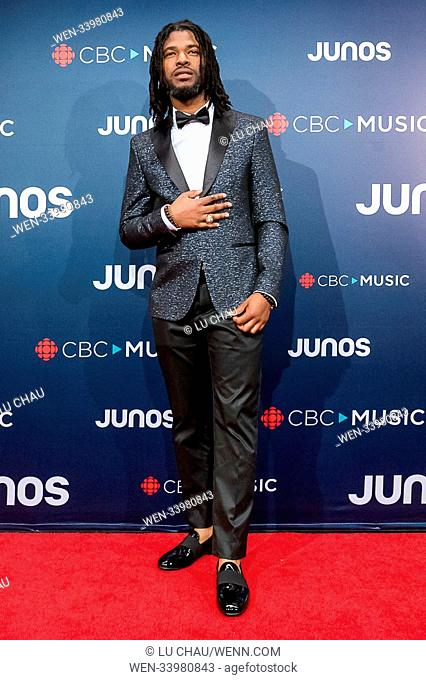 2018 JUNO Awards, held at the Rogers Arena in Vancouver, Canada. Featuring: Kirk Diamond Where: Vancouver, British Columbia