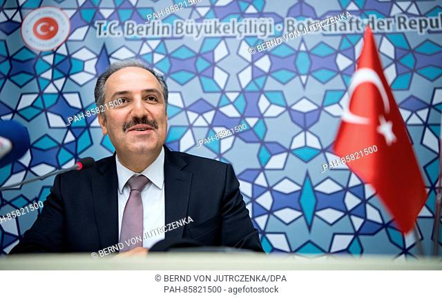 Mustafa Yeneroglu (AKP), chairman of the human rights committee of the TurkishParliament, speaks about the current political events in Turkey and on...