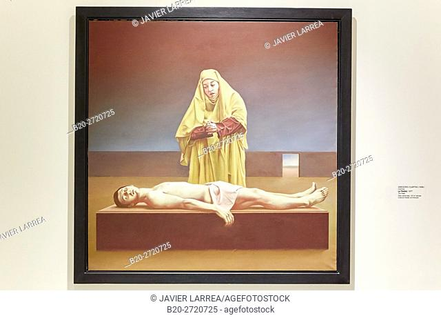 """""""The Pietá"""", 1977, Gregorio Cuartas, Museo de Antioquia, Medellin, Antioquia, Colombia"""