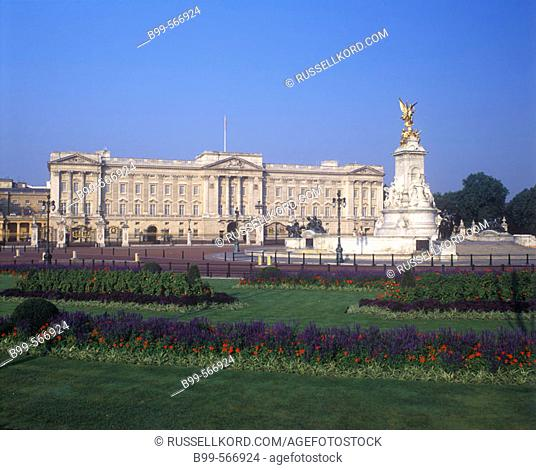Buckingham Palace, London, England, U.K