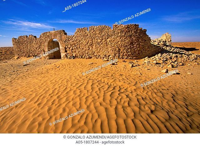 Ksar Ghilane Fortress Sahara Southern Tunisia Ksar Ghilane The fortress, Sahara Sur de TUNEZ