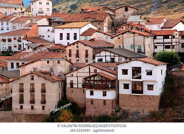 Ortigosa de Cameros in the Sierra Cebollera. La Rioja