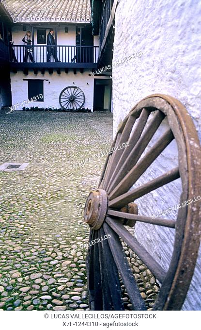 Córdoba Andalusia  Spain: Posada del Potro, typical inn dating 15th c  mentioned in the novel 'Don Quixote de la Mancha' and declared Artistic Monument and part...