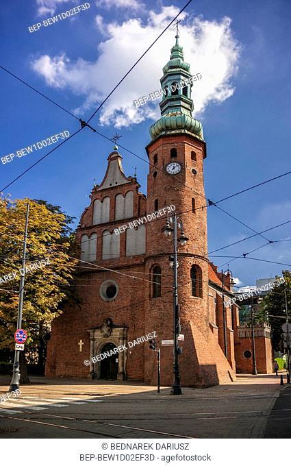 Church of the Assumption. Bydgoszcz, Kuyavian-Pomeranian Voivodeship, Poland