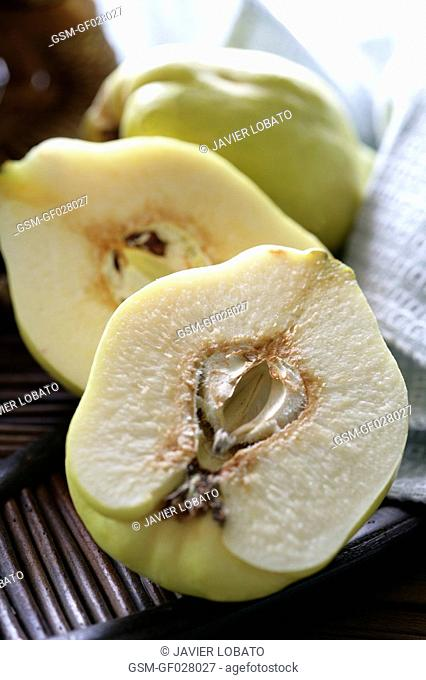 Opened quince