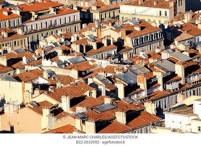 Marseille, Bouches-du-Rhône, région PACA, Provence-Alpes-Côte d'Azur, France