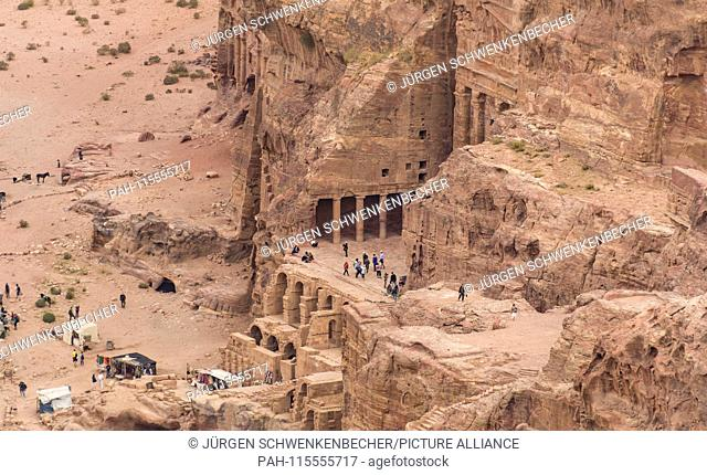 An entire city with temples, houses and tombs was smashed into the walls of the rocks more than 2,000 years ago. The rock town of Petra