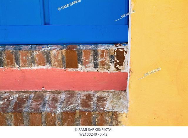 Colourful doorstep in Trinidad, Sancti Spiritus, Cuba