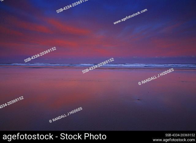 Sunrise From Cannon Beach Along the Oregon Coast in Oregon