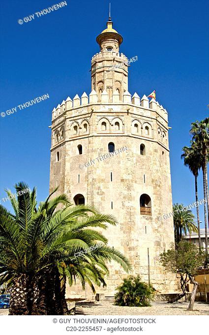 Torre del Oro, Sevilla, Andalusia, Spain