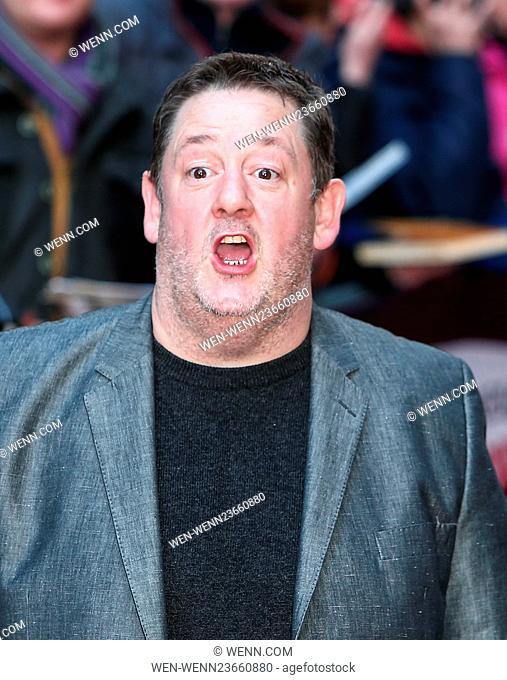 Arrivals for the Jameson Empire Awards 2016 at the Grosvenor House Hotel Featuring: Johnny Vegas Where: London, United Kingdom When: 20 Mar 2016 Credit: WENN