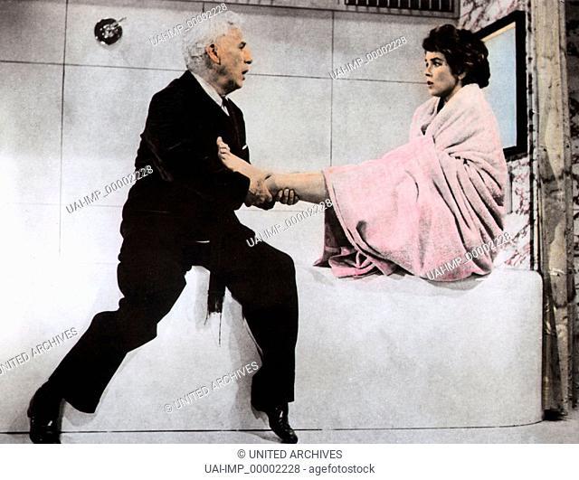 Ein König in New York, (A KING IN NEW YORK) GB 1956, Regie: Charles Chaplin, CHARLES CHAPLIN, DAWN ADDAMS