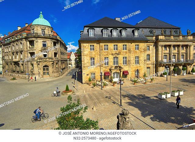 Bayreuth, Opera House, Opera del Margrave, Opera Street, Opernstrasse, Upper Franconia, Franconia, Bavaria, Germany