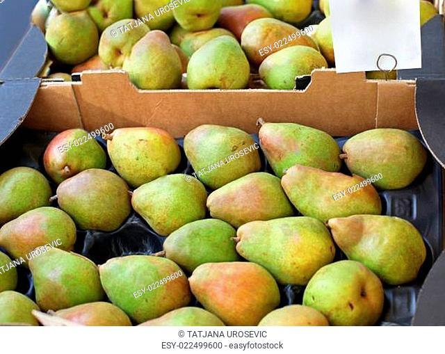 Organic pears