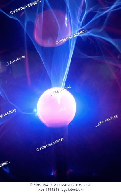 The center of a Plasma Globe
