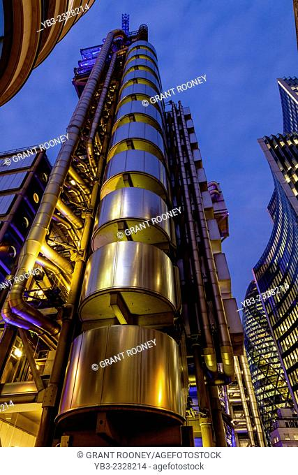Lloyds Building, City Of London, London, England