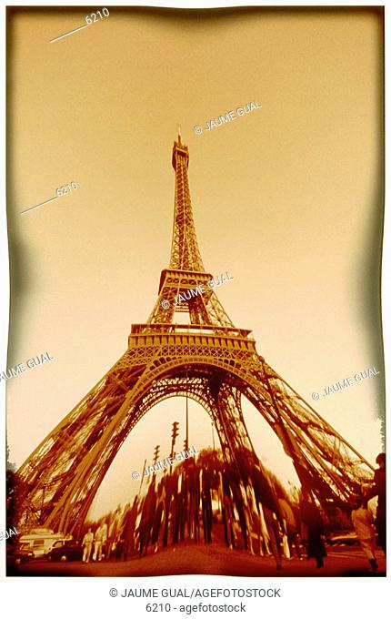 Eiffel Tower. Paris. France
