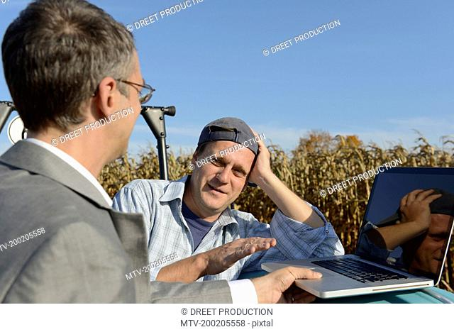 Farmer agrees to deal with businessman, Bavaria
