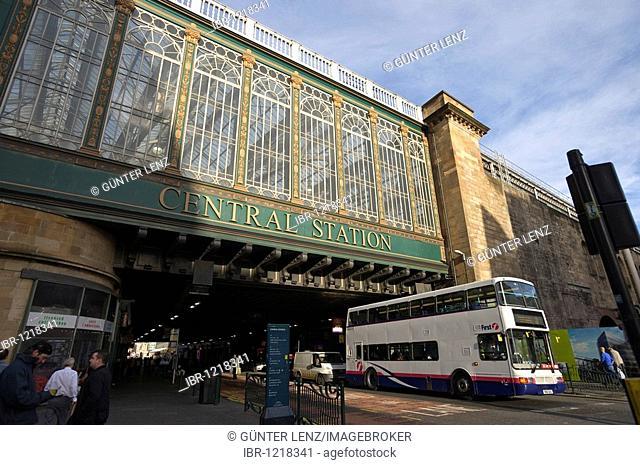 Central Station, Glasgow, Scotland, United Kingdom, Europe, PublicGround