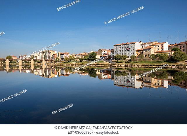 Miranda de Ebro cityscape in Burgos, Spain